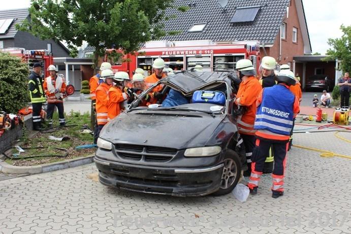 VUPK  Verkehrsunfall eingeklemmt